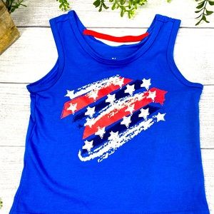 NEW BCG Toddler Red, White & Blue Tank 4